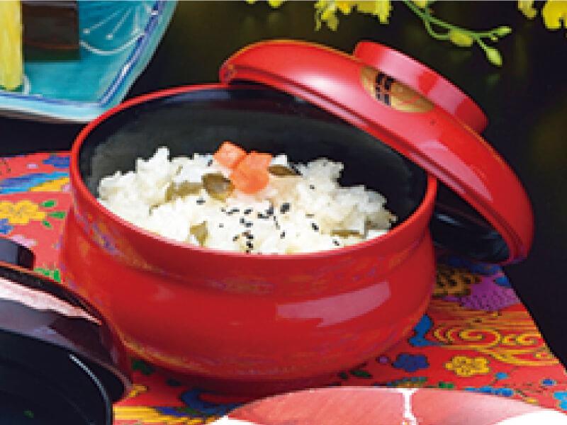 琉球料理 じゅーし