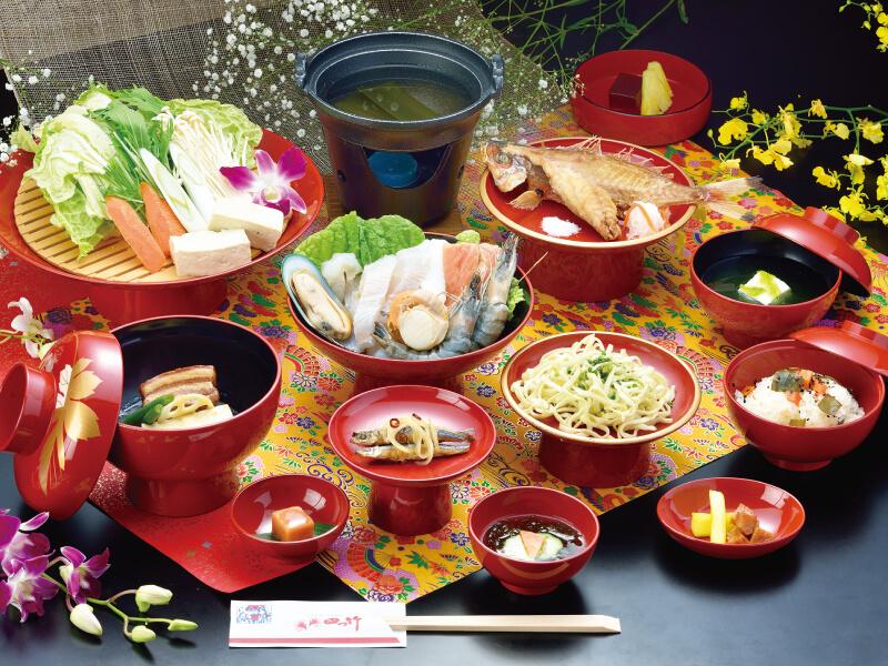 "Seafood Course ""Niraikanai"""
